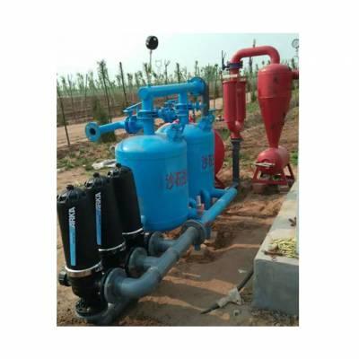 农业灌溉63mm 75mm双体砂石过滤器制作厂家