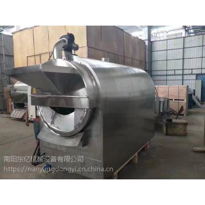 具有自动通风排湿功能的炒货机 滚筒不锈钢炒货机 南阳东亿多功能炒货机