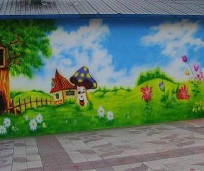 南昌墙绘公司———美佳彩绘专业公司!