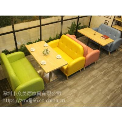 深圳卡座沙发定制,餐厅饭馆沙发耐脏皮革沙发卡座,简约软包沙发椅子供应