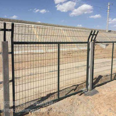铁路线路防护栅栏_九江铁路线路两侧专用防护栅栏生产厂家