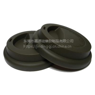 可定制印刷硅胶杯盖 陶瓷杯防漏咖啡杯盖 卡口密封咖啡杯硅胶盖
