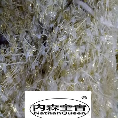 內森奎音品牌7S双色蝴蝶纱100%锦纶单边锦纶可染色最新产品