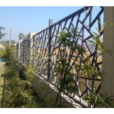 广州德普龙铝窗花专业生产 隔断屏风铝窗花 金属木纹隔断厂家