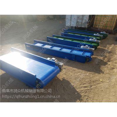 翻山越岭皮带输送机 装卸水泥粮食输送机 整体物品传送机