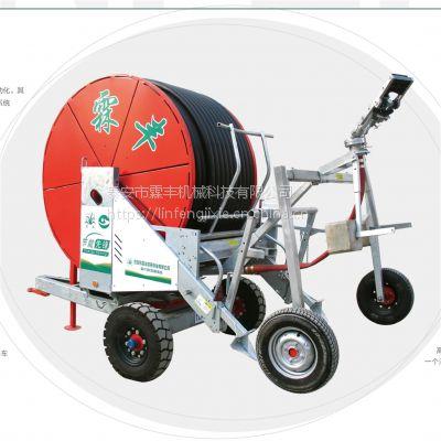小型喷灌设备 ,霖丰JP65-220TX移动喷灌机价格 ,山东自走式喷灌