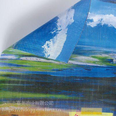 深圳网格布喷绘 UV喷绘 双面网格布喷绘 高档商场网格布吊旗