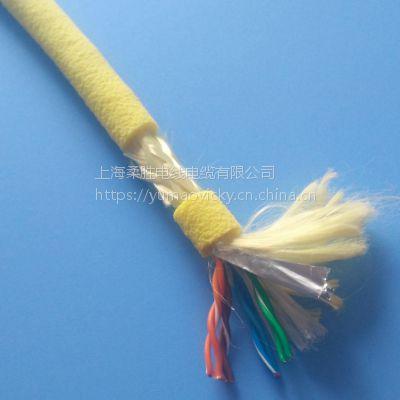 防水防油耐腐蚀电缆线6/4/3/7/9*0.2/0.25/0.35MM2 耐水解防微生物水下漂浮线缆