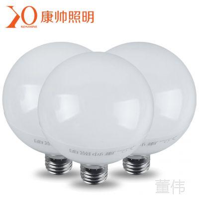 厂家直销防频闪LED灯泡 E27螺口球型护眼灯泡 12W超高亮度超节能
