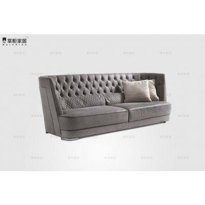 设计师沙发 意大利轻奢 现代沙发 GREPPI HIGH CAPITONN? sofa