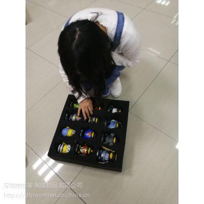 纯黑色电子内衬海绵包装盒 包装海绵定制生产厂家