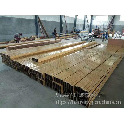 山东铝方通吊顶价格 木纹热转印铝方通吊顶耐用,不易氧化变型等