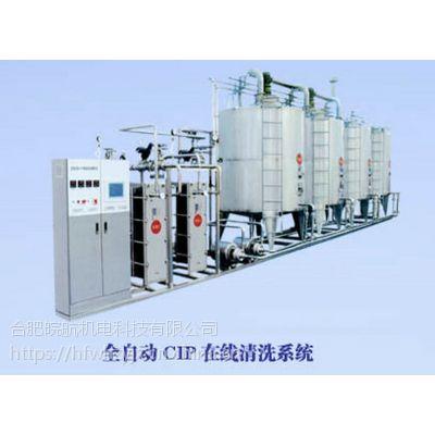 全洗系统自动CIP清 合肥全自动CIP清洗系统 清洗液流量自动控制系统,