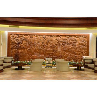 酒店艺术装置之大堂雕塑设计
