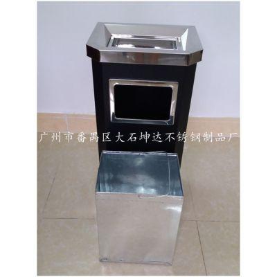 坤达正品金属烤漆座地烟灰桶 酒店过道走廊电梯口靠墙式垃圾桶GPX-009