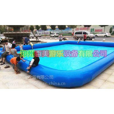 夏季移动水乐园,充气游泳池批发价格