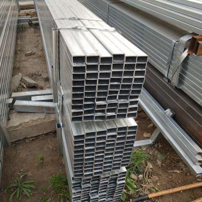 方管厂家生产-Q235B无缝管 薄壁镀锌钢管-四方镀锌管40*40