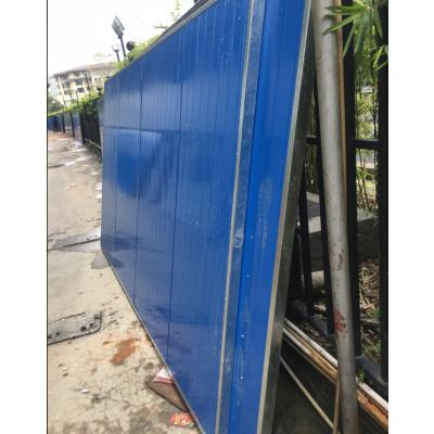福建宁德维航厂家供应市政工程施工围挡彩钢板夹芯围挡
