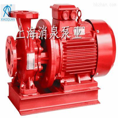 上海消泉泵业直销XBDW卧式管道离心泵XBD-W5.0/55-150厂家特供7.8