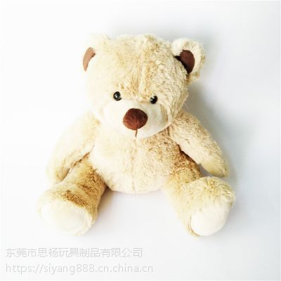 泰迪熊动物毛绒玩具厂家直销设计生产OEM加工定制