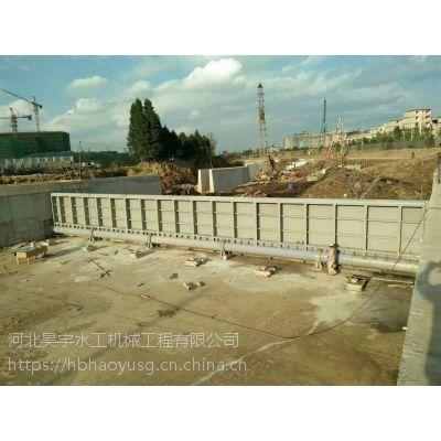 河北昊宇水工 钢坝闸门双向挡水 工业节水设备 厂家报价