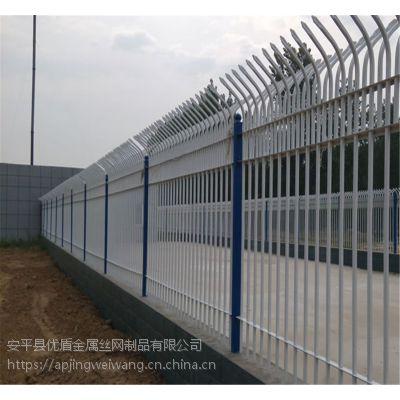 喷塑锌钢围墙栏杆@锌钢围墙成品锌钢栏杆@锌钢围墙栏杆生产厂家