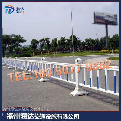 城市市政道路防撞隔离栏杆 交通设施市政工程京式锌钢护栏