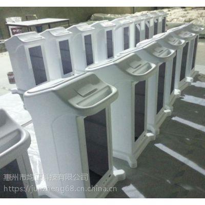 供应高品质深圳美容仪器壳体手板及大批量生产