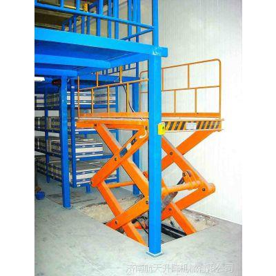 青岛4层高货梯多少钱 航天机械2吨固定式电动升降台定制