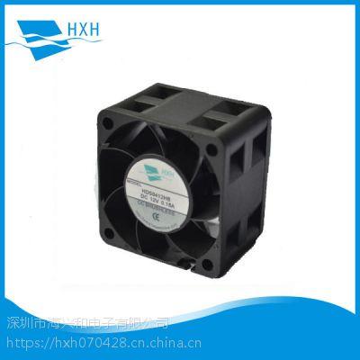 生产供应4028增压电源充电桩电源IP68防水防尘直流散热风扇