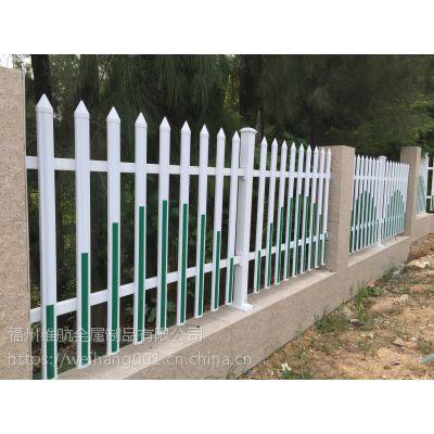 供应pvc塑料护栏绿化带草坪护栏 维航厂家隔离栏定做