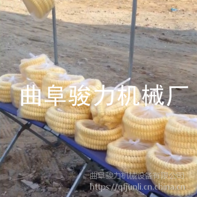 骏力牌 饼干型糖酥果机 箱式杂粮膨化机 玉米膨化机 视频