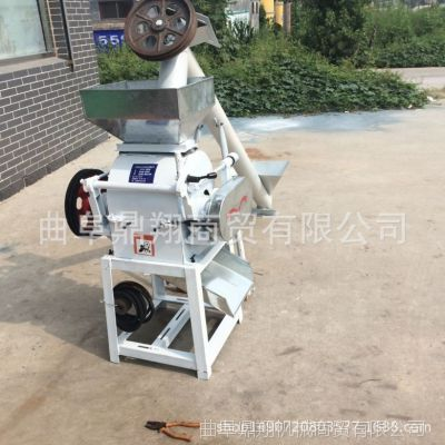 厂家热销电动花生破碎机供应花生压胚机高效节能高粱粉碎机