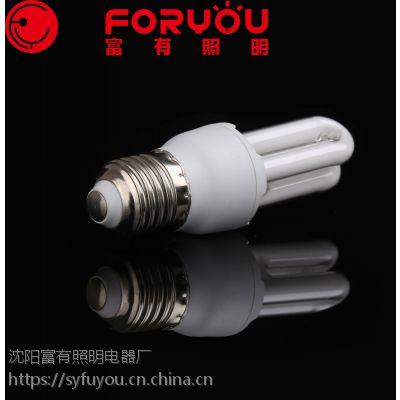 节能灯生产厂家螺旋2U3U4U半螺全螺节能灯泡OEM贴牌加工