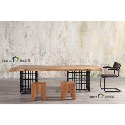 美式桌椅 美式餐厅实木桌椅生产 上海工厂直销