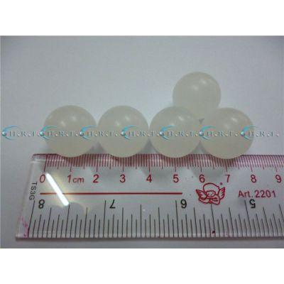 实心PP珠原色白色塑料球聚丙烯塑料珠现货4mm13毫米19mm机械使用广东