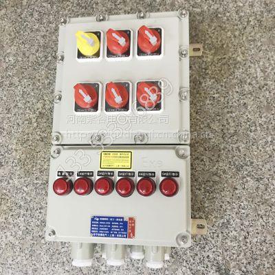 BXM51-5/K32防爆照明配电箱-河南紫谷防爆电气