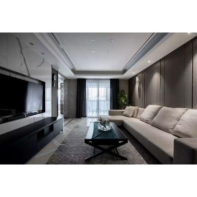 天古设计师刘孝成,茶园天古装饰公司设计师 重庆洋房现代风格装修完工图