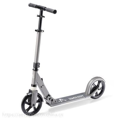 8寸可定制铝合金脚踏折叠滑板车平衡车代步车时尚成人款A80