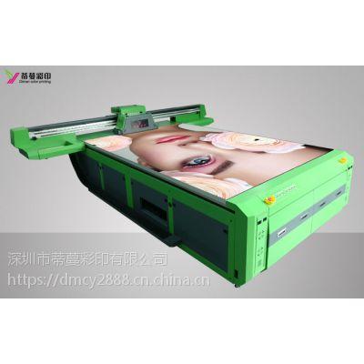 竹木纤维印花设备uv平板打印机uv快装墙板画复制机 墙壁装修机器
