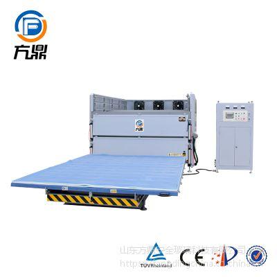 方鼎2-4干法夹胶设备,弯钢化夹层设备