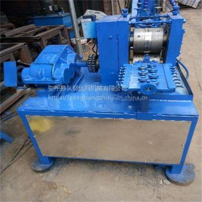 供应浙江杭州从邦钢丝压扁机 采用合金轧辊 线材表面无划痕