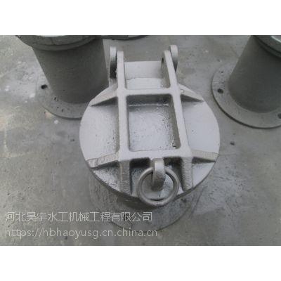 河北昊宇水工浮箱式铸铁拍门垂直安装厂家直销