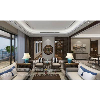 华侨城天鹅湖装修效果图_五星级的新中式风格