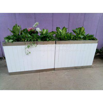 HUX033实木花箱、塑木花箱、本厂大量提供