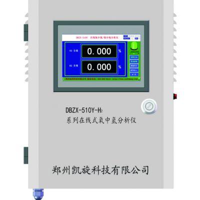 郑州凯旋DBZX-510Y-H2在线氧中氢分析仪