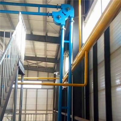 【都用】水泥粉管链输送机 无尘封闭管链输送机