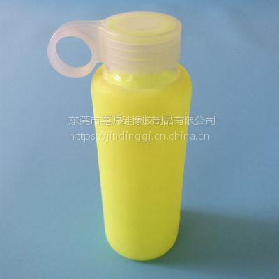 硅胶运动水杯套水壶套 保温杯防滑隔热套 玻璃随口水杯防摔套