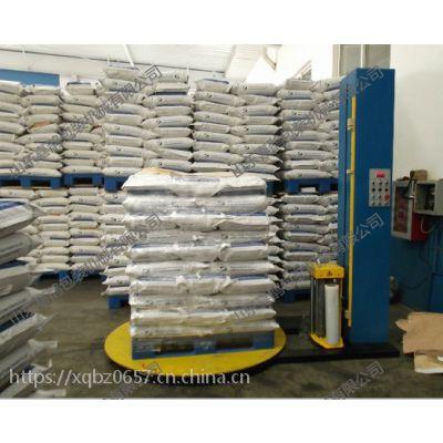 全自动纸板桶托盘薄膜缠绕包装机 打包机 省20%膜 山东喜鹊