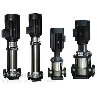 上海众度CDLF4-160 3KW轻型立式多级离心泵